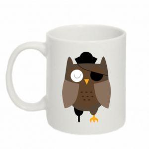 Kubek 330ml Owl pirate