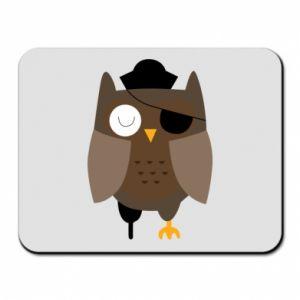 Mouse pad Owl pirate - PrintSalon