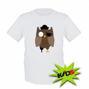 Dziecięcy T-shirt Owl pirate