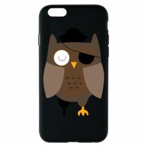 Phone case for iPhone 6/6S Owl pirate - PrintSalon