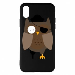 Etui na iPhone X/Xs Owl pirate