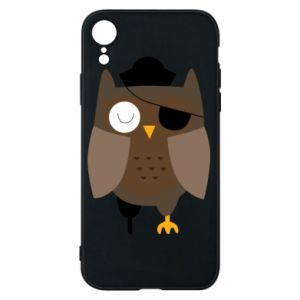 Etui na iPhone XR Owl pirate