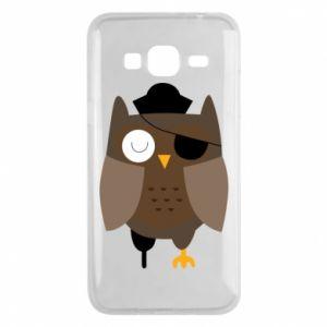 Phone case for Samsung J3 2016 Owl pirate - PrintSalon