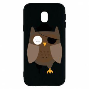 Phone case for Samsung J3 2017 Owl pirate - PrintSalon