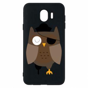 Phone case for Samsung J4 Owl pirate - PrintSalon
