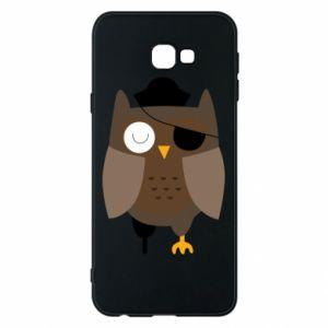 Phone case for Samsung J4 Plus 2018 Owl pirate - PrintSalon