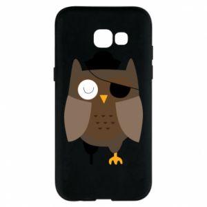 Phone case for Samsung A5 2017 Owl pirate - PrintSalon