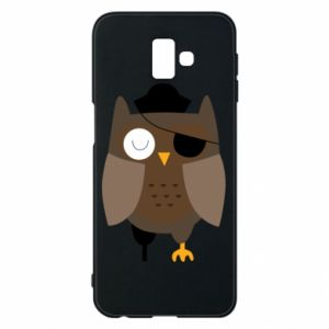 Etui na Samsung J6 Plus 2018 Owl pirate