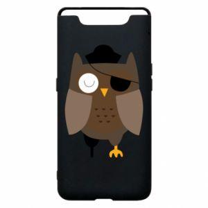 Phone case for Samsung A80 Owl pirate - PrintSalon