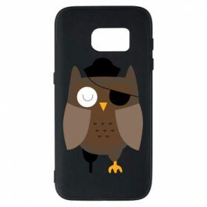 Phone case for Samsung S7 Owl pirate - PrintSalon