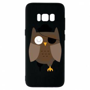 Phone case for Samsung S8 Owl pirate - PrintSalon