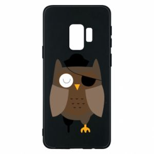 Phone case for Samsung S9 Owl pirate - PrintSalon