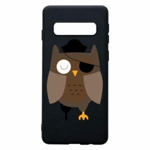 Phone case for Samsung S10 Owl pirate - PrintSalon
