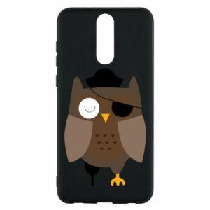 Phone case for Huawei Mate 10 Lite Owl pirate - PrintSalon