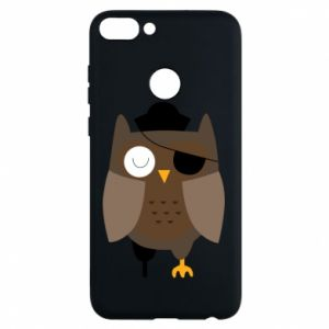 Etui na Huawei P Smart Owl pirate