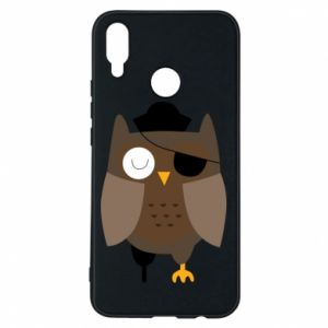 Etui na Huawei P Smart Plus Owl pirate