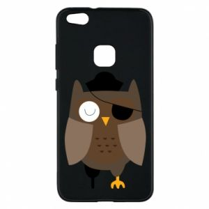Phone case for Huawei P10 Lite Owl pirate - PrintSalon