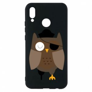 Phone case for Huawei P20 Lite Owl pirate - PrintSalon