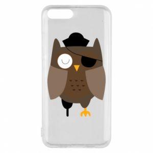 Phone case for Xiaomi Mi6 Owl pirate - PrintSalon
