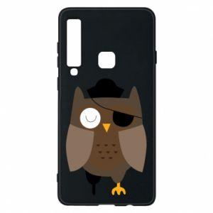 Phone case for Samsung A9 2018 Owl pirate - PrintSalon
