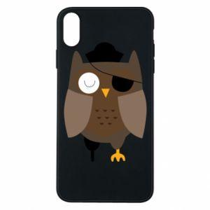 Etui na iPhone Xs Max Owl pirate