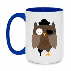 Kubek dwukolorowy 450ml Owl pirate