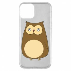 Etui na iPhone 11 Owl with big eyes