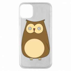 Etui na iPhone 11 Pro Owl with big eyes