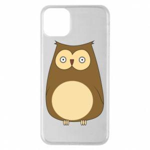 Etui na iPhone 11 Pro Max Owl with big eyes