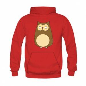Bluza z kapturem dziecięca Owl with big eyes