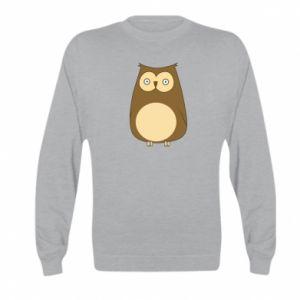 Bluza dziecięca Owl with big eyes