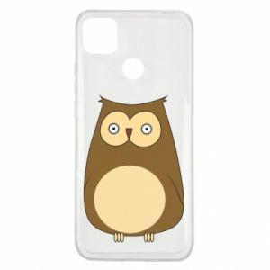 Etui na Xiaomi Redmi 9c Owl with big eyes