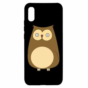 Xiaomi Redmi 9a Case Owl with big eyes