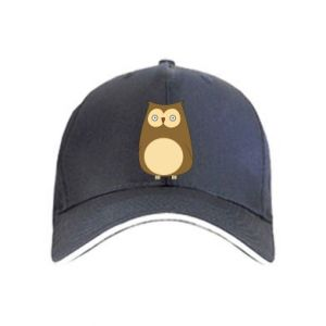 Cap Owl with big eyes