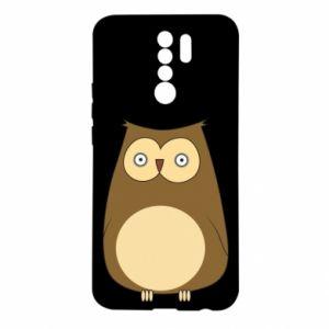 Etui na Xiaomi Redmi 9 Owl with big eyes