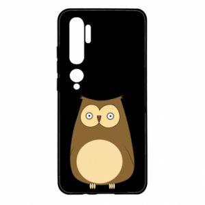Etui na Xiaomi Mi Note 10 Owl with big eyes