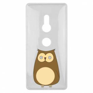 Etui na Sony Xperia XZ2 Owl with big eyes
