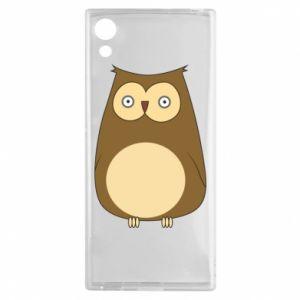 Etui na Sony Xperia XA1 Owl with big eyes