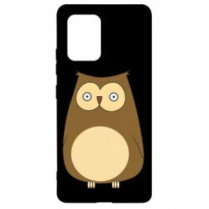 Etui na Samsung S10 Lite Owl with big eyes