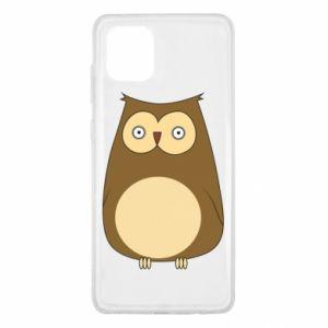 Etui na Samsung Note 10 Lite Owl with big eyes