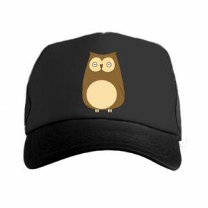 Czapka trucker Owl with big eyes