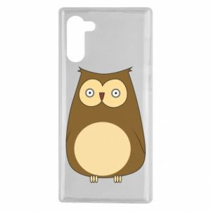 Etui na Samsung Note 10 Owl with big eyes