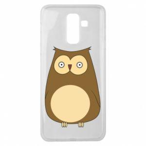 Etui na Samsung J8 2018 Owl with big eyes