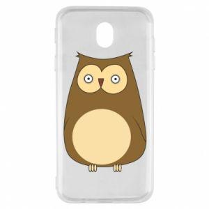 Etui na Samsung J7 2017 Owl with big eyes