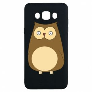 Etui na Samsung J7 2016 Owl with big eyes