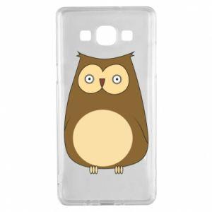 Etui na Samsung A5 2015 Owl with big eyes