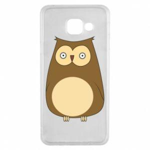 Etui na Samsung A3 2016 Owl with big eyes