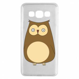 Etui na Samsung A3 2015 Owl with big eyes