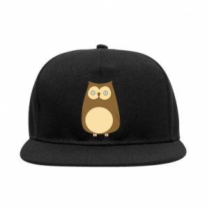 Snapback Owl with big eyes
