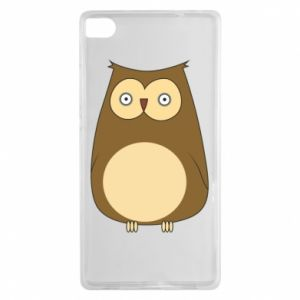 Etui na Huawei P8 Owl with big eyes